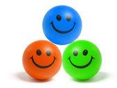Smiley bollen — Stockfoto