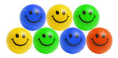 Smiley Bals — Stock Photo