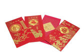 Chinese New Year Red Packets — Stock Photo