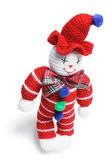 Woollen Toy Clown — Stock Photo