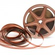 Stock Photo: Movie Film Reel