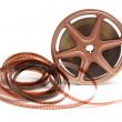 movie film reel — Stock Photo