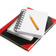 Pencil and Writing Pad — Foto de Stock
