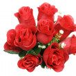 A Bunch of Red Roses — Stock Photo