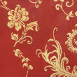 Chinese Textile Background — Stock Photo