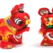 Stock Photo: Chinese Lion Dance