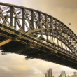 Sydney harbour bridge, Australië — Stockfoto