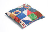 Patchwork Cushion — Stock Photo