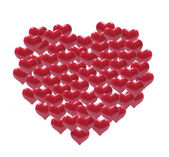 Red Love Hearts — Stock Photo