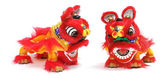 Chinese Lion Dance — 图库照片