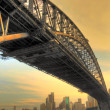 ponte Sydney harbour bridge — Foto Stock #2510499