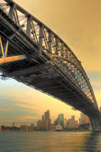 Ponte Sydney harbour bridge — Foto Stock