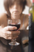 Alcohol abuse 01 — Стоковое фото