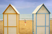 Beach cubicle 02 — Stock Photo