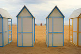 Beach cubicle 05 — Stock Photo