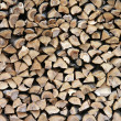 Wood stack 2 - Stock Photo