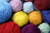 Wool ball 01 — Stock Photo