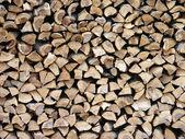 Trä stack 2 — Stockfoto