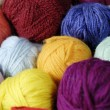 Wool ball 02 — Stock Photo