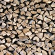 Royalty-Free Stock Photo: Wood stack 1