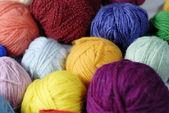 Wool ball 02 — Stock Photo