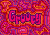 Groovy — Stock Vector