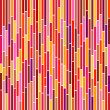 Abstract Stripes in Hot Colours - Image vectorielle