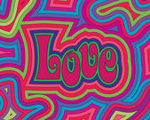 Groovy Love — Vector de stock