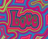 Groovy liefde — Stockvector