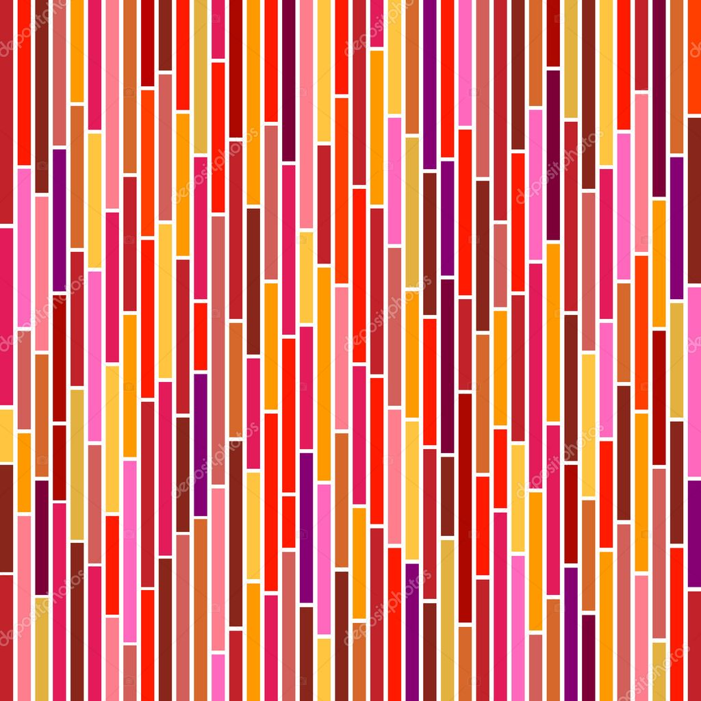 Abstract vertical stripes design in hot colours. — Stock Vector #2516175