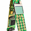 Digital mobile phone printed boards. - Stock Photo