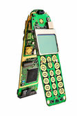 Digital mobile phone printed boards. — Stock Photo