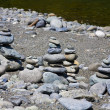 Stacked Rocks — Stock Photo