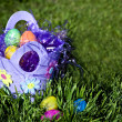 Royalty-Free Stock Photo: Easter Eggs in the Grass