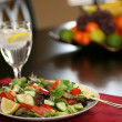 Stock Photo: Healthy Salad on Table