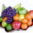 Fresh Fruit Platter — Stock Photo