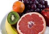 Fresh Fruit Plate — Stock Photo