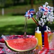 Stock Photo: Old Fashioned Summer Picnic