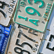 Stock Photo: Idaho License Plates