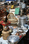 Antique Swap Meet — Stock Photo