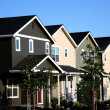 Row of Townhouses - Stock Photo