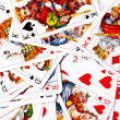 Various playing cards — Stock Photo