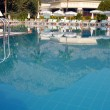 Swimming pool at summer resort — Stock Photo #2565936