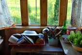 Rustic kitchen — Photo