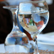 Water glasses — Stock Photo