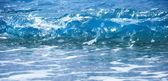 Blue sea wave — Stock Photo