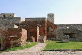 Stone fortress in Belgrade — Stock Photo