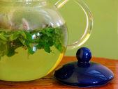 Mint herbal tea — Stock Photo