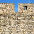 Details of stone fortress  in Belgrade — Foto Stock