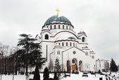 Orthodox church in Belgrade — Stock Photo